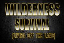 Wilderness survival / Use mother nature to provide food and water for your family. Living off the land and bush craft skills for survival.