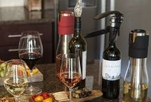 Wine Gadgets & Accessories / Nifty wine gadgets we love. http://learn.winecoolerdirect.com/product-guides/wine-accessories/