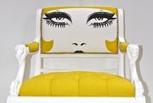 Chair Candy / From fabulous & fun to the stylish & sophisticated, painted chairs that make the heart skip a beat...