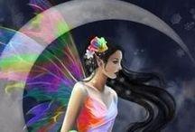 Fairytales+FantasyArt+Fairys+Unicorns