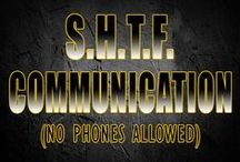 SHTF Communications / It's quite possible that at some point or another the technology we depend on will be gone. For how long? no one knows, but having alternative forms of communication will be necessary.