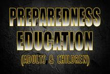 Preparedness Education / Learning about preparedness for children as well as adults.