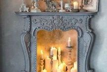 Mantle Mania / Painted fireplace mantles