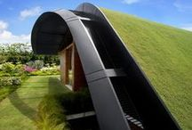 Green Roofs / Visually Appealing & Innovative Green Roof Designs