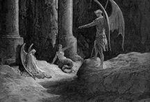 GUSTAVE DORE / Paradise Lost, The Divine Comedy, The Raven ....