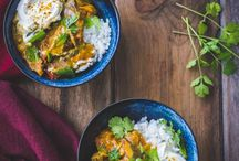 Curries & Stir Fries for Acne / A selection of healthy curries and stir fries to enjoy as part of your natural acne healing journey. Refined sugar free, dairy free and gluten free.