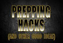 Prepping Hacks / You never know what might be useful in a survival situation but learning something new is never a bad idea.