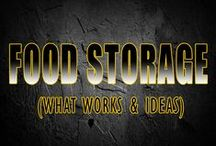 Long Term Food / Food storage techniques for preppers and survivalist preparing for disasters or food shortages.