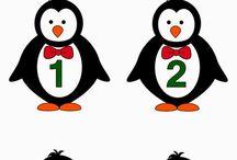Pingvin matek / Matek számok