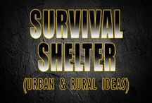 Survival Shelter Ideas / Survival shelter ideas From Tarps to Tents to Debri Huts - Different Shelter Ideas