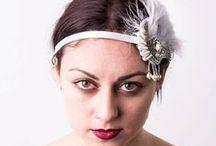 Flash Floozy | Vintage Headwear / Handmade Vintage inspired Headwear. Great Gatsby Flapper Headbands.