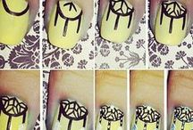 Nail Design / Fun and Interesting ways to do your nails.  / by Briana G.