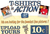 T-Shirts in Action / Post a picture of you with your Shirtcity-Shirt and get a 10€ shopping coupon. Every pictures wins!!