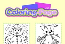 Coloring Pages / Fun coloring pages for kids, printable connect the dots pages, maze pages and fun online kids games. Online coloring too!