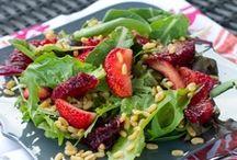 Pretty Little Salads / Scrumptious Salads!