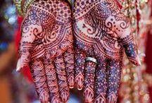 mãos indianas