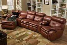 Motion Furniture / Top styles of furniture that include reclining, swivel, power, lift, massage, heat, ect.