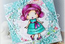 Inspiration Monday / Cards and Projects from La-La Land Crafts Design Team Monday. http://lalalandcrafts.blogspot.com/search/label/Inspiration%20Monday