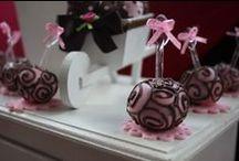 Ursa Marrom & Rosa Provençal / Doces decorados
