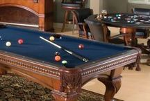 Gameroom / Get the best gameroom style furniture and boards. (billiards, pool tables, air hockey, bars, ect.)