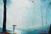 Picturi in culori acrilice / Picturi in culori acrilice realizate de artisti talentati din intreaga lume!