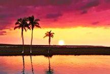 Couchers de soleil / Les plus beaux couchers de soleil  #sunset