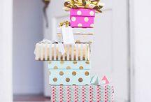 Gift  / Idées emballages cadeaux