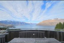Mountain Montage! / Most of our Queenstown New Zealand holiday homes boast a-maz-ing mountain views. We're sharing the love(ly views)!