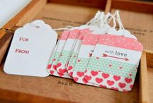 Tags  / Étiquettes, déco cadeaux