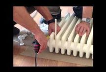 How to instal HOTHOT radiators / How to instal designer radiators HOTHOT.