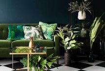 Home Decor Ideas / Good ideas to base home decorating off of. Everything from candle positioning to toss pillows!