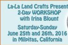 Events and Classes / Here you will find a list of Events hosted by La-La Land Crafts