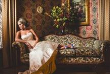 Bridal Portraits at Preston Woodall House / We offer brides our beautiful home and gardens for a unqiue setting for Bridal Portraits along with our lovely suites to prepare in.
