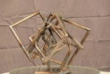 Square Sculpture Series By Gilbert Boro