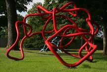 Word Sculpture Series By Gilbert Boro