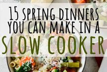 { Slow Cooker Recipes }