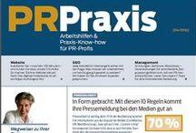 Public Relations / Presse- und Öffentlichkeitsarbeit, Redaktion von Texten, Content Marketing, Online-PR