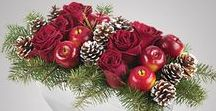Holiday Flower Arrangements / A mix of our inspiration and personal designs for holiday decor.