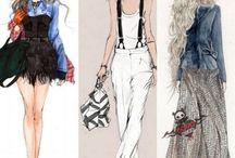 Hobby: fashion design (ideas)