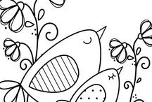 Kleurplaten/coloring pages