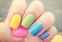 Colorful nails. / Nails with colours. / by Vic Love Purple