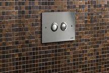 Valsir Push Plates / Placche di comando / Valsir Design Push Plates / Placche di comando Bathroom Design, Bathroom decor / Arredamento Bagno