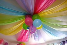 Party Ideas / Idées de Fêtes / Whether it be for little girls, little boys, or grown up adults party. It can with a theme or not. I'm an adult with a kid's heart, so who knows, once I have kids I might use these ideas. :)