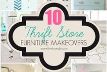DIY Projects-Thirft Store Items