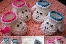 Baby / kind / Zelfmaakideeen voor baby's, oa haken, naaien