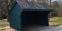 Run-In Sheds / Small custom sheds with maximum protection of your horses