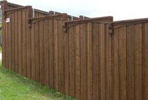Board on Board / Custom Board on Board fences.  Built by Titan Fence & Supply Company.