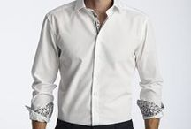 Our Shirt Collection / Our shirts are designed and made in Europe using high quality Austrian and Italian 100% cotton fabrics. We use non-iron fabric that can be machine washed to 40 degrees Celsius that you really do not need to iron. The shirts are uniquely designed so that they look great as a business shirt with or without a tie and great after work, with the top buttons undone and the cuffs rolled back.  Our designs are truly exclusive and aim to bring a touch of art into a men's shirt.