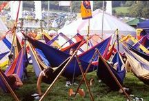 Festival Spirit / Ticket To The Moon is sharing the good Hammock Vibe since 1996...Summer music festivals are where it's at!