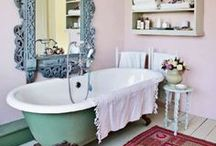 Home Must Haves / My home style feels comfy, calming, colorful, bright, vintage and elegant